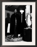 Pastor of the St. Martin's Spiritual Church, Flower Bowl Demonstration, Washington D.C., c.1942 Print by Gordon Parks