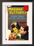 Madame Butterfly, Sylvia Sidney, Cary Grant, 1932 Poster