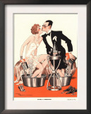 Le Sourire, Glamour Sore Feet, Ache Magazine, France, 1930 Posters