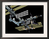 Computer Generated Image of the International Space Station Posters by Stocktrek Images