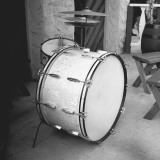 Drum Kit, Outdoors Photographic Print by George Marks
