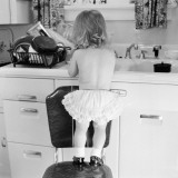 Doing the Dishes Photographic Print by H. Armstrong Roberts