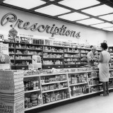 Interior of Drug Store Photographic Print by George Marks