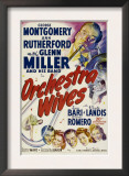 Orchestra Wives, Glen Miller, 1942 Prints