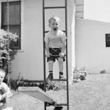 Swing Set Scares Fotografisk tryk af H. Armstrong Roberts