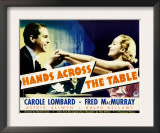 Hands across the Table, Fred Macmurray, Carole Lombard, 1935 Posters
