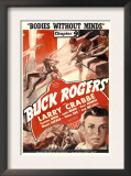 Buck Rogers, Larry Crabbe in 'Chapter 9: Bodies Without Minds', 1939 Poster