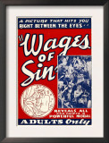 The Wages of Sin, 1938 Prints