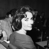 Actress Elizabeth Taylor Seen Here During a Press Conference at London Airport, May 1959 Photographic Print