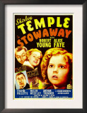 Stowaway, Robert Young, Alice Faye, Shirley Temple, 1936 Print