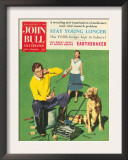 John Bull, Lawnmowers Magazine, UK, 1950 Posters