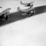 Planes Over Suez Photographic Print