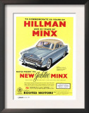 Hillman, Jubilee Edition Hillman Minx Cars, UK, 1950 Art