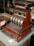 Turn of Century Cash Register, Old Store Counter Photographie par H. Armstrong Roberts