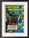 Captain Midnight, 'Chapter 6: Weird Waters', 1942 Posters