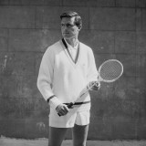 Badminton Man Photographic Print by Chaloner Woods