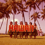 Hula Girls Dancing in Front of Palm Trees, Hawaii Photographic Print by H. Armstrong Roberts
