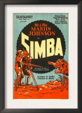 Simba,; on Left, 1928 Prints