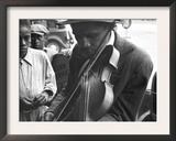 Blind Street Musician, West Memphis, Arkansas, c.1935 Print by Ben Shahn