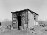 Shack With 'No Admittance' and 'No Trespassing' Signs Outside Photographic Print by H. Armstrong Roberts