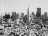 San Francisco Skyline, With Trans America Building Photographic Print by H. Armstrong Roberts