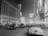 Times Square and Broadway at Night, New York City Photographic Print by H. Armstrong Roberts