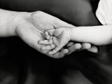 Holding Hands Photographic Print by H. Armstrong Roberts