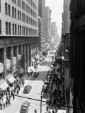 Traffic and Pedestrians on Chestnut Street, Philadelphia, Aerial View Photographic Print by H. Armstrong Roberts