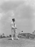 Man Playing Golf, Biltmore Hotel Miami Photographic Print by H. Armstrong Roberts