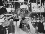 Mad Scientist Fotografisk tryk af H. Armstrong Roberts