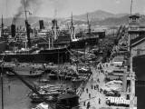 Shipping Docks, Kowloon, Hong Kong Photographic Print by H. Armstrong Roberts
