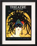 Theatre, Masks Magazine, USA, 1920 Posters