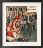 John Bull, Arsenal Football Team Changing Rooms Magazine, UK, 1947 Art