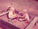 Children in Sandbox Photographic Print by H. Armstrong Roberts
