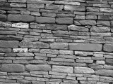 Dry Stone Wall Fotografisk tryk af H. Armstrong Roberts