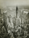 Usa, New York, New York City, Aerial View of Manhattan Photographic Print by George Marks
