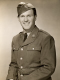 Portrait of World War II Army Man Photographic Print by George Marks