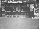 Scoreboard at Baseball Field Photographic Print by George Marks