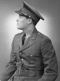Studio Shot of Mid Adult Man in Uniform Photographic Print by George Marks