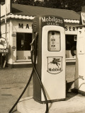 A Fuel Oil Pump at a Gas Station Photographic Print by George Marks