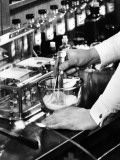 Pharmacist at Work With Medications Photographic Print by George Marks