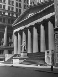 New York, Wall Street, Federal Building Photographic Print by George Marks