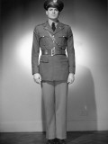U. S. Army Officer in Uniform Photographic Print by George Marks
