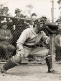 Baseball Catcher Photographic Print by George Marks