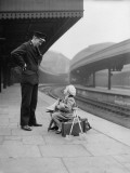 On the Platform Photographic Print