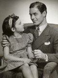 Father and Daughter Photographic Print by George Marks