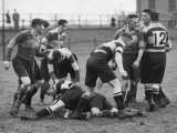 Rugby in South Wales Photographic Print