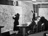 Air Raid Control Room Photographic Print