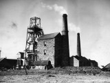 Cornish Tin Mine Photographic Print