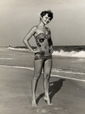 Woman at the Beach Photographic Print by George Marks